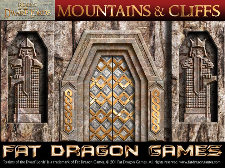 Realms Of The Dwarf Lords Mountains Amp Cliffs Fdg0104