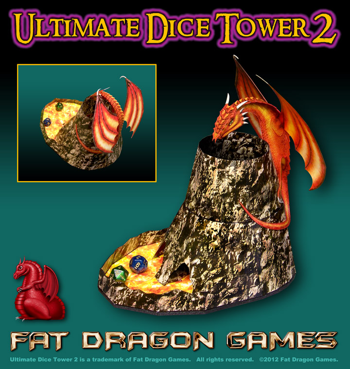 Ultimate Dice Tower from Fat Dragon Games