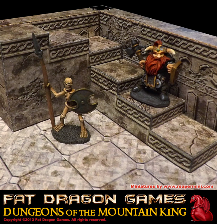 E-Z DUNGEONS: Dungeons of the Mountain King FDG0142 - Fat