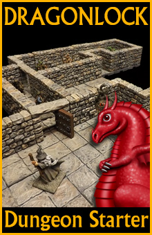 graphic about 3d Printable Dungeon Tiles identify DRAGONLOCK™ Greatest: Dungeon Novice Mounted FDG0160 - Excess weight