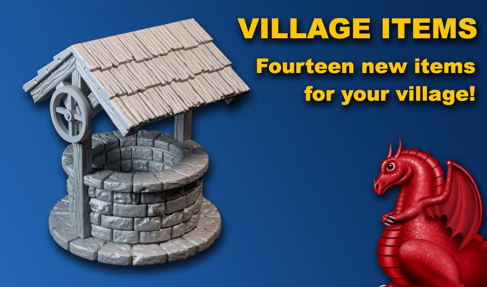 DRAGONLOCK™ Ultimate: Village Items