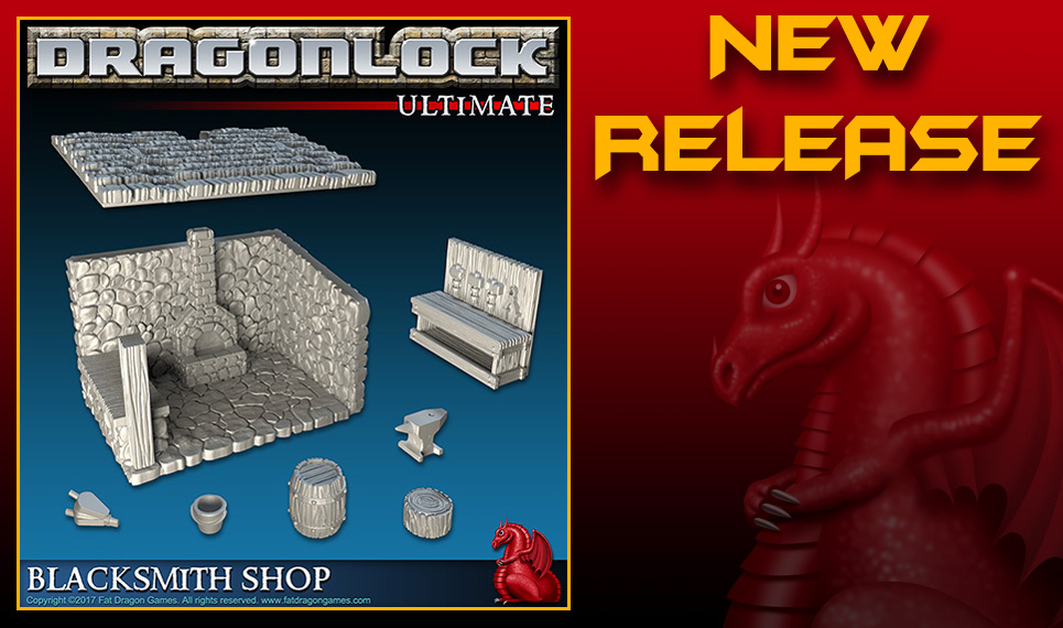 DRAGONLOCK™ Ultimate: Blacksmith Shop