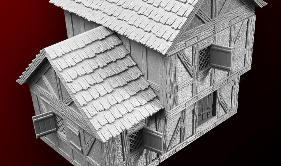 DRAGONLOCK™ Ultimate: Village Buildings Set 1