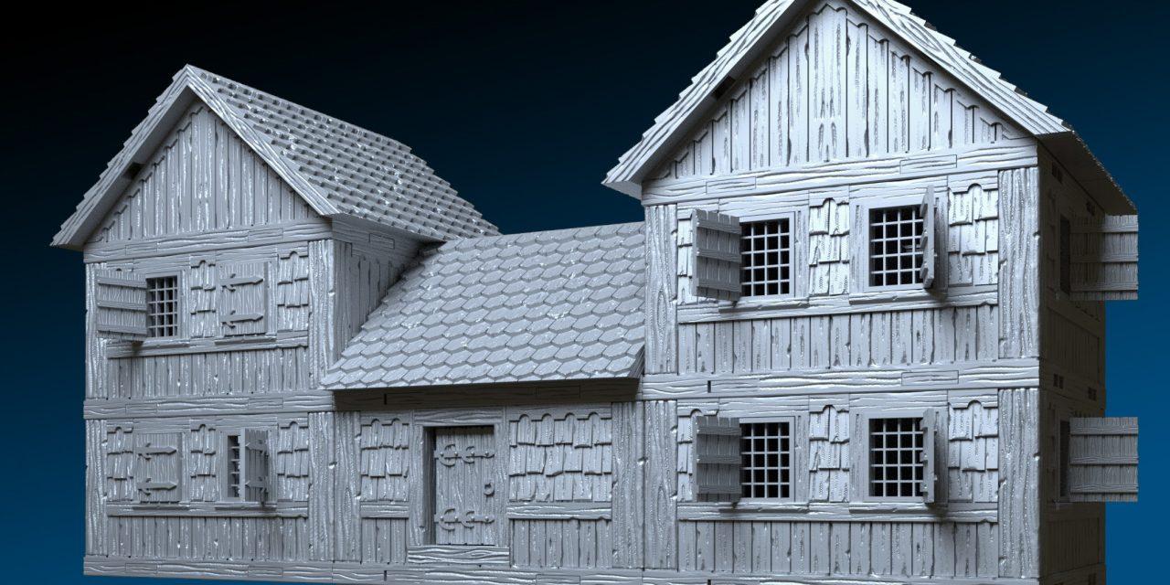 DRAGONLOCK™ Ultimate: Village Buildings 3