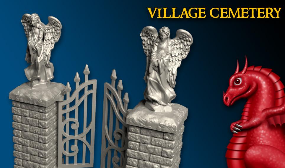 DRAGONLOCK™ Ultimate: Village Cemetery