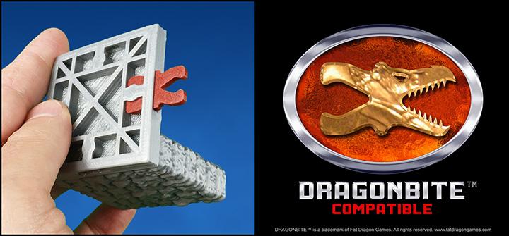 DRAGONLOCK™ Ultimate: Dragonbite™ Clip v3.0 FDG0184 - Fat Dragon Games